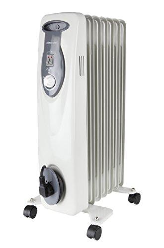 Orbegozo RA 1000 D - Radiador de aceite, 1000 W de potencia, construcción modular de 5 elementos y diseño en color blanco: Amazon.es: Hogar