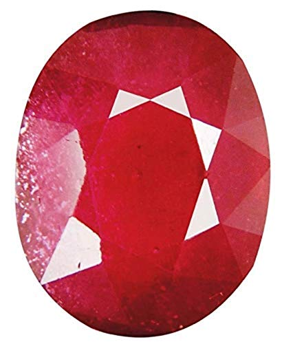 Tejvij And Sons 8 Carat Certified Natural Burma Manik Ruby Gemstone