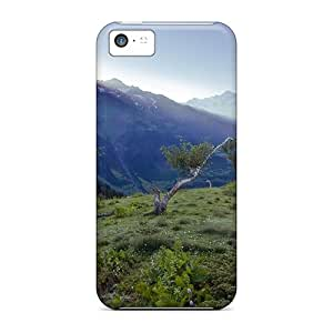 DBa47086gxBh Case88me Awesome Cases Covers Compatible With Iphone 5c - Morning On A Mountain Range