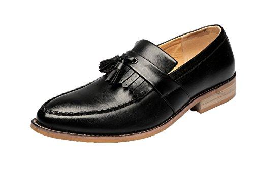 De Casuales Black1 Hombres Inglaterra Cuero Hombre Zapatos Dhfud Pequeños 5xpz08qgwn