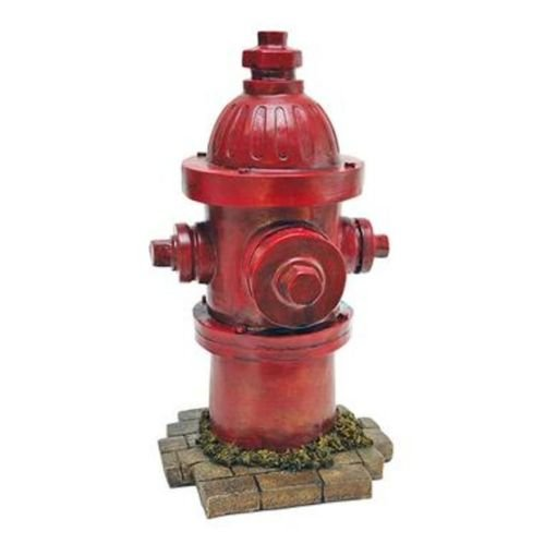 Mayrich Dog Fire Hydrant Yard Garden Indoor Outdoor Resin Statue 14' ()