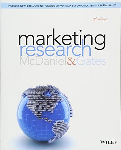 Marketing Research (Market Based Management Roger Best)