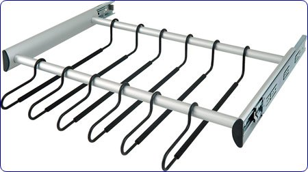 Hafele Pants Rack in Dark Oil-Rubbed Bronze 30 inch W by Hafele