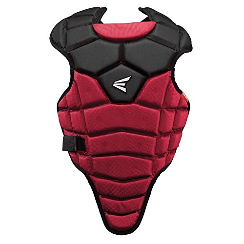 Easton M5 Youth Qwik Fit Chest Protector, Red/Black