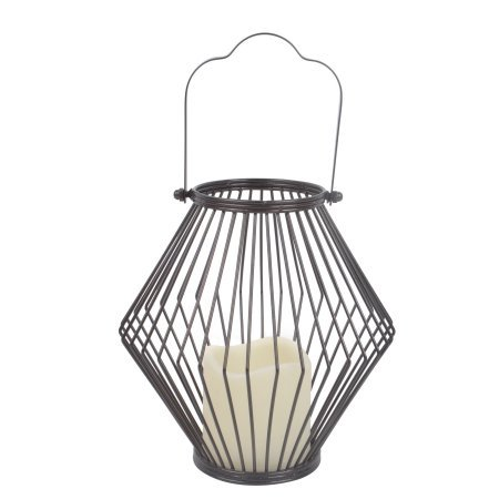 Better Homes and Gardens Elgin Wire Outdoor Solar Lanterns (Gardens Solar Better And Homes Lights)