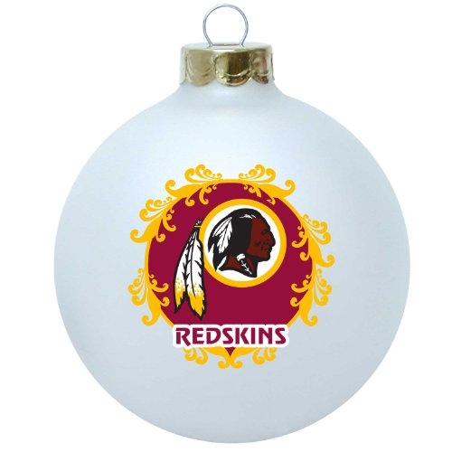 NFL Washington Redskins Large Collectible Ornament (Washington Candy Redskins Nfl)