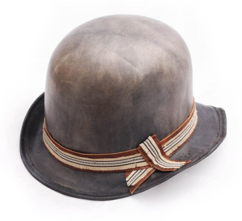 Move Roma Melon Leather Bowler Hat Size 60 cm by Move Roma