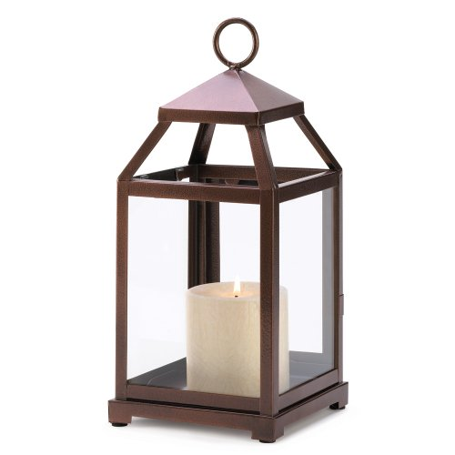 10 Wholesale Bronze Contemporary Candle Lantern Wedding Centerpieces