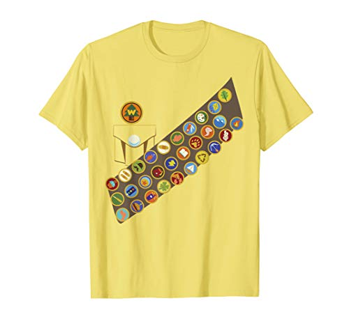 Disney Pixar Up Russell Patches Halloween Graphic T-Shirt