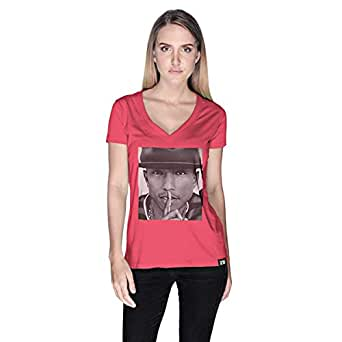 Creo Pharrel T-Shirt For Women - S, Pink