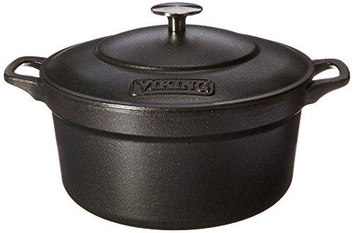 Viking Enamel Cast Iron Dutch Oven, 5 Quart by Viking Culinary