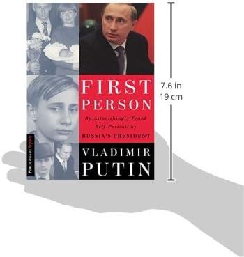 First Person An Astonishingly Frank Self Portrait By Russia S President Putin Vladimir Gevorkyan Nataliya Timakova Natalya Kolesnikov Andrei 8601200641189 Amazon Com Books