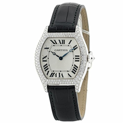 Cartier Tortue Mechanical-Hand-Wind Male Watch WA503851 (Certified Pre-Owned)