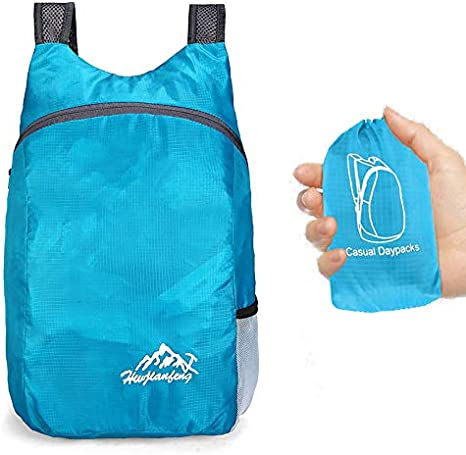 20L Ultralight Waterproof Foldable Outdoor Camping Hiking Trekking Backpack New