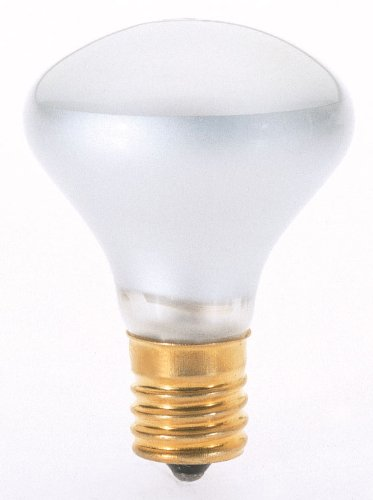 Satco S4701 120V Intermediate Base 40-Watt R14 Light Bulb, Clear - Satco Light Bulb Color Reflector