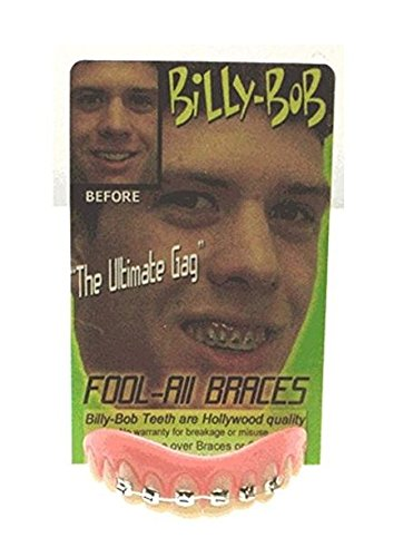 Billy Bob Fool-all Braces - Fake Braces For Teeth