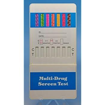 Amazon com: 10 Panel Dip Drug Testing Kit, Test for 10