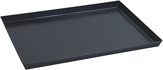 Paderno World Cuisine 13 75 By 11 Inch Blue Steel Baking Sheet Kitchen Dining