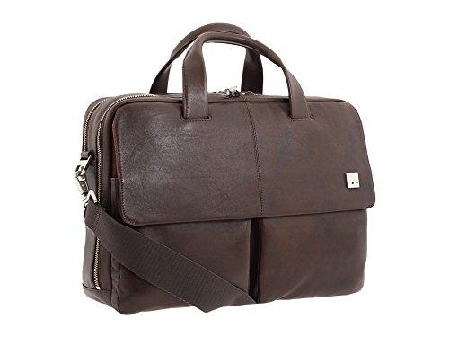 [ノモ ロンドン] KNOMO London レディース Warwick Double Compartment Laptop Briefcase ブリーフケース [並行輸入品]  ブラウン B01N6DH6W4