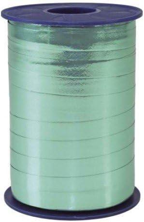 C.E Pattberg Pr/äsent Mexico Ruban Bolduc Effet m/étallique Turquoise 5 mm 400 m