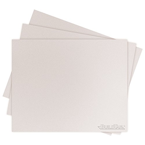 BuildTak BT08x10WT-3PK Sheet, 8'' x 10'', White by BuildTak