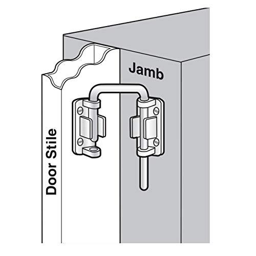 Defender Security U 9847 Patio Sliding Door Loop Lock