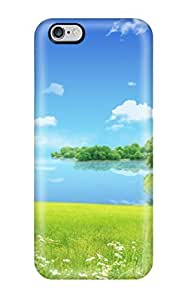 Excellent Design Bright Clear Summer Day Phone Case For Iphone 6 Plus Premium Tpu Case