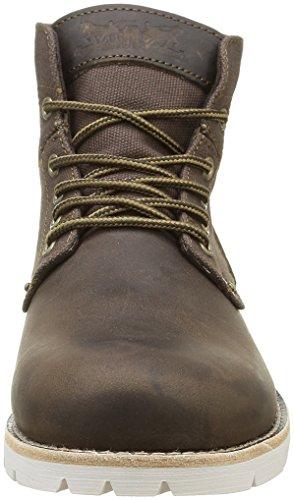 Marrone Dark 29 Uomo Boots Levi's Stivali Desert Jax Brown XIHYv