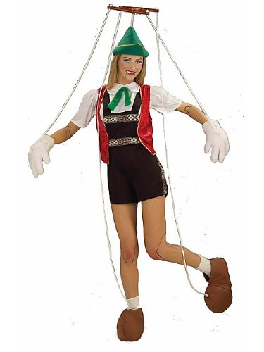 Marionette Puppet Adult Halloween Costume Size Standard -