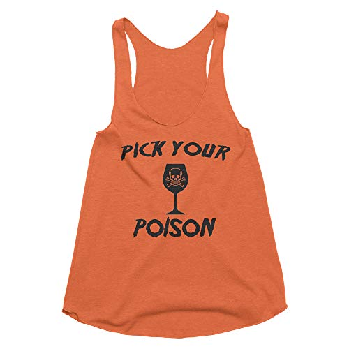 Pick Your Poison Halloween Party (Spunky Pineapple Pick Your Poison Halloween Drinking Tank Top)