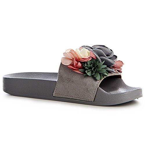Sandalettes Sandales Femmes Gris Sandales topschuhe24 topschuhe24 Femmes Femmes Sandalettes Gris topschuhe24 8xtnSS