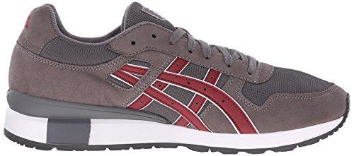 GT Sneaker Grey Retro Retro Grey II GT Sneaker ASICS ASICS II Burgundy Ezzna1xY