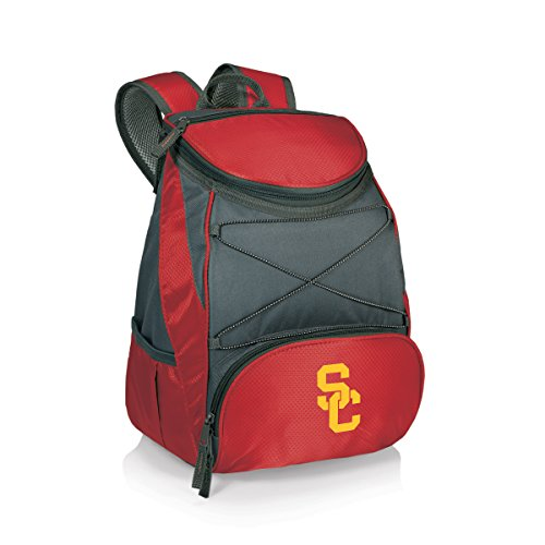 NCAA USC Trojans PTX Insulated Backpack Cooler, Red, Regular Golf Pack Cooler