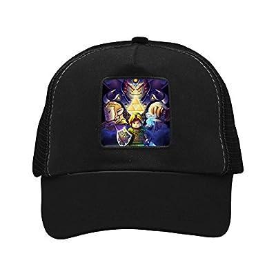 Custom Legend-of-Zelda Cartoon Men & Women Mesh Cap Snapback Trucker Hats Sports Baseball Cap