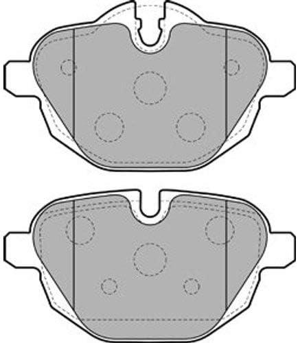 Bremsbel/äge Set Hinten Delphi Bremsscheiben /Ø330Mm