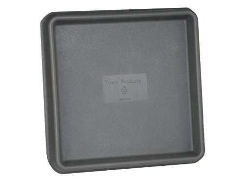 Tusco Products TRSQ15SL Square Saucer, 15-Inch, Slate by Tusco Products