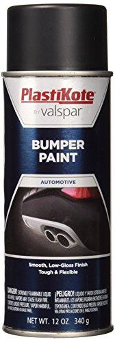 PlastiKote 616 Black Bumper Paint, 12 oz.