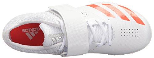 Nuevo precio barato Liquidación Último Adidas Adizero Rendimiento Unisex Hj Zapato Para Correr Con Los Puntos Blancos / Infrarrojos / Metalizado / Plata iPq1r