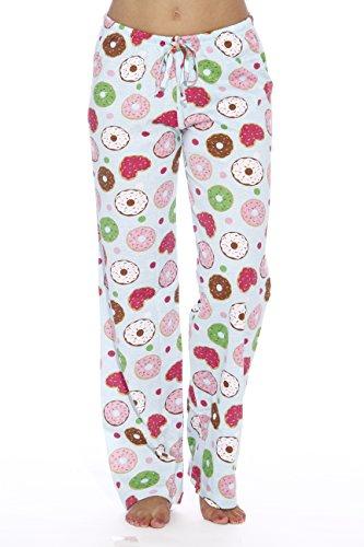6324-10042-3X Just Love Women Pajama Pants / Sleepwear, 3X Plus, Donuts Blue