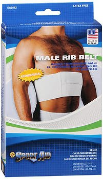 Sport Aid Rib Belt Male Universal 1 Each (Pack of 6) by SportAid