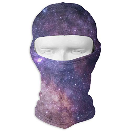JJKYL The Stars and Galaxy As Seen from Rocky Mountain National Park Full Face Mask Hood Sunscreen Mask Cycling Hunting Hiking Skiing Mask Dual Layer Cold for Men and Women]()