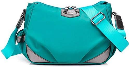 女性軽量防水クロスボディバッグアウトドアショルダーバッグナイロンメッセンジャーバッグ YZUEYT