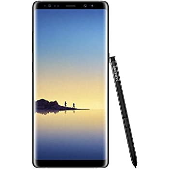 "Samsung Galaxy Note 8 64GB Single-SIM SM-N950FZKABTU - 6.3"" inch Android Factory Unlocked 4G/LTE Smartphone (Midnight Black) - International Version"