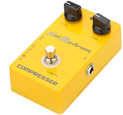 Cp-10 True Bypass Design Compressor Guitar Effect Pedal Designed With On / Off Led Durable Jacks And Foot Switch