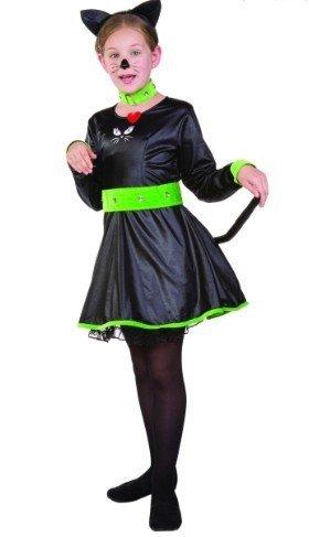 Kittie Cat Child Costumes (RG Costumes Kittie Cat Costume, Child Medium/Size 8-10)