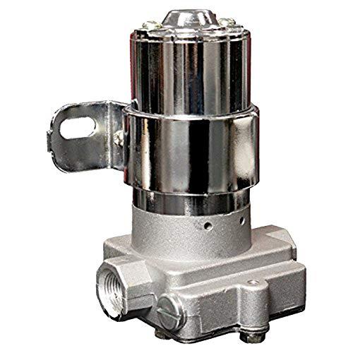 A-Team Performance 30-155 Electric Inline Fuel Pump 12V 155 GPH at 14PSI Chrome