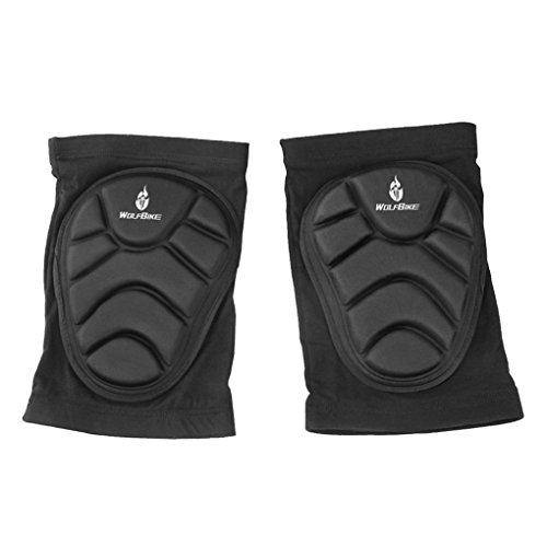 BXT Unisex Crash Proof Knee Elbow Pads Support Guard Protector Leg Sleeve for Basketball Cycling Skiing Goalkeeper Skating Snowboarding Roller Blading Skateboarding Extreme Sports Protective Gear