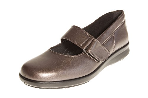 Florence Touch Fittings and Espresso DB In Casual Ladies Leather Leather Easy Fastening b 4E 6E Shoe 8E 2E wqBxSgZnE