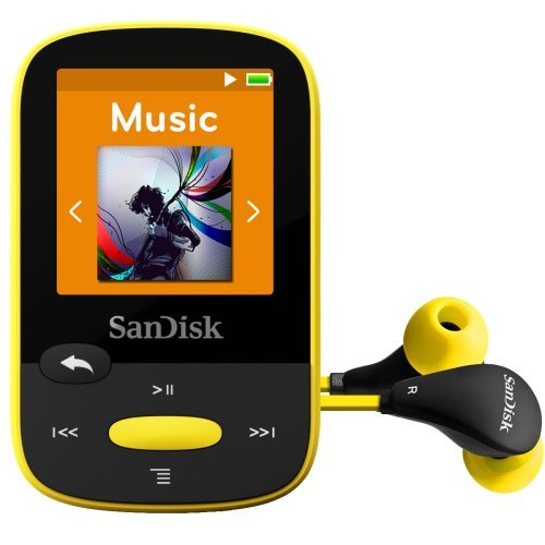 SDMX24 008G A46Y Yellow SanDisk Digital Player product image