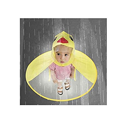 TiooDre Cute Duck Chubasquero Niã±Os Impermeable Sombrero ...
